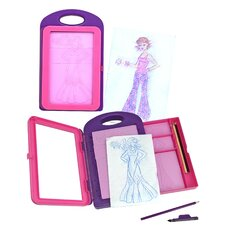 <strong>Melissa and Doug</strong> Fashion Design Activity Kit