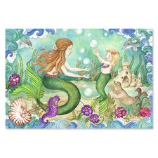 <strong>Melissa and Doug</strong> Mermaid Playground 48 Piece Floor Puzzle Set
