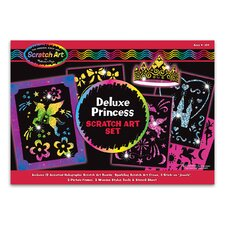 <strong>Melissa and Doug</strong> Deluxe Princess Scratch Art Set