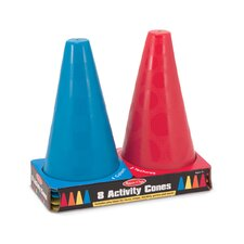 <strong>Melissa and Doug</strong> 8 Activity Cones