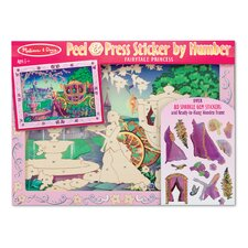 Fairytale Princess Peel and Press Sticker by Number