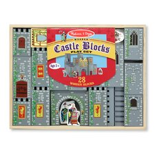 <strong>Melissa and Doug</strong> Castle Blocks Play Set
