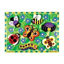 <strong>Melissa and Doug</strong> Bugs Chunky Wooden Puzzle