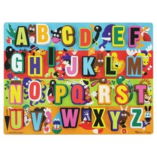 <strong>Melissa and Doug</strong> Jumbo ABC Chunky Wooden Puzzle