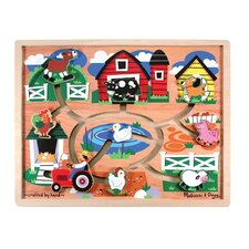 <strong>Melissa and Doug</strong> Farm Maze Puzzle