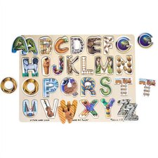 <strong>Melissa and Doug</strong> Alphabet Art Puzzle