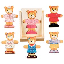 <strong>Melissa and Doug</strong> Bear Dress-Up Puzzle