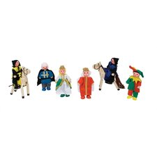 <strong>Melissa and Doug</strong> Castle Dolls Play Figures Set
