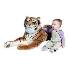 <strong>Melissa and Doug</strong> Large Tiger Stuffed Animal Plush Toy