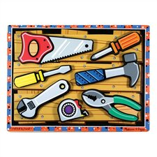 <strong>Melissa and Doug</strong> Tools Chunky Puzzle