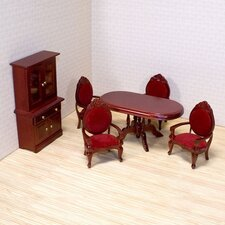 <strong>Melissa and Doug</strong> Dollhouse Dining Room Furniture