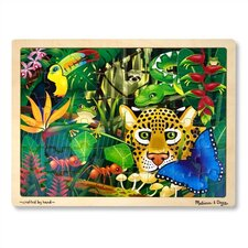 <strong>Melissa and Doug</strong> Rainforest Wooden Jigsaw Puzzle