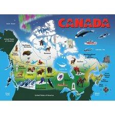 Canada Map Classic Puzzle