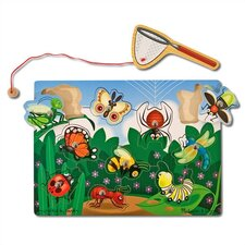 <strong>Melissa and Doug</strong> Bug-Catching Game Magnetic Puzzle