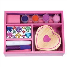 <strong>Melissa and Doug</strong> DYO Heart Box Arts & Crafts Kit