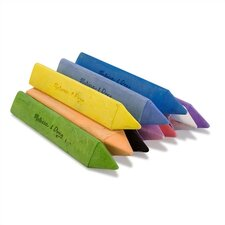 <strong>Melissa and Doug</strong> 10 Jumbo Triangular Chalk Sticks