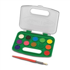 <strong>Melissa and Doug</strong> Take-Along Watercolor Set