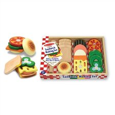 Play Food Sandwich Making Set