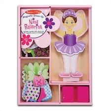 <strong>Melissa and Doug</strong> Nina Ballerina Magnetic Dress-Up Set