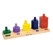 <strong>Melissa and Doug</strong> Stack and Sort Board