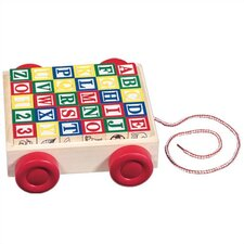 <strong>Melissa and Doug</strong> Classic ABC Block Cart