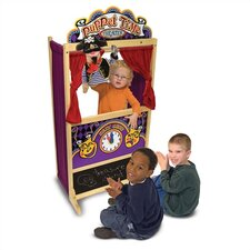 <strong>Melissa and Doug</strong> Deluxe Puppet Theater