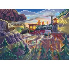 <strong>Melissa and Doug</strong> Eagle Canyon Railway Cardboard Jigsaw Puzzle
