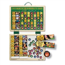 <strong>Melissa and Doug</strong> Magnetic Responsibility Chart
