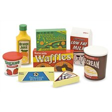 <strong>Melissa and Doug</strong> 8 Piece Fridge Food Set