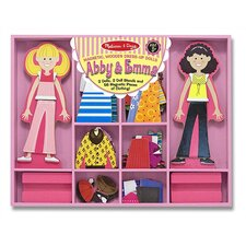 <strong>Melissa and Doug</strong> Abby & Emma Magnetic Dress-Up Set