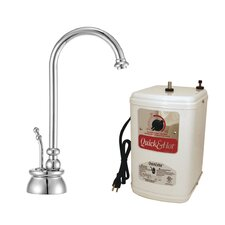 Calorah One Handle Single Hole Instant Hot Water Dispenser Faucet