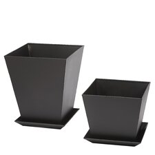 Phat Tommy Square Planters (Set of 2)