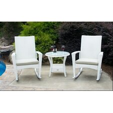Phat Tommy Bayview 3 Piece Rocker Seating Group with Cushion