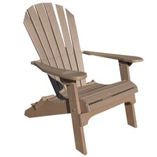 <strong>Buyers Choice</strong> Phat Tommy Folding Recycled Poly Adirondack Chair