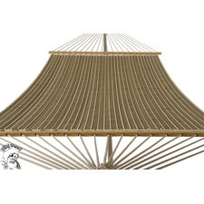 <strong>Buyers Choice</strong> Phat Tommy Sunbrella Harwood Deluxe Quilted Reversible Hammock and Base Combination