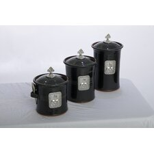 Artisans Domestic Ceramic Canister (Set of 3)