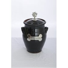 Artisans Domestic   Dog Treat Jar