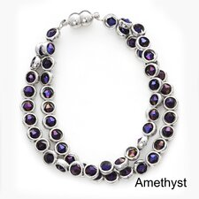 Artisans International Halo Birthstone Beeded Bracelet
