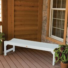 Phat Tommy Metal Wood Kepner Garden Bench