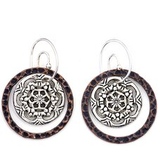 Artisans Domestic Circle Drop Earrings