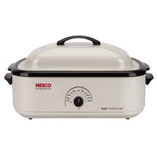 18-Quart Non-Stick Roaster Oven