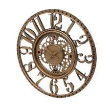 Open Dial Resin Gear Wall Clock