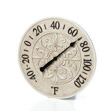 """15"""" Le Blanc Fleur Wall Clock"""