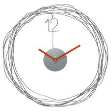 "14"" Wire Transfer Wall Clock"
