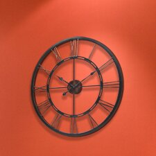Metal Fusion Open Dial Wall Clock