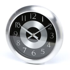 Mercury Wall Clock in Black