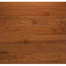 "Classic 3-1/4"" Solid Oak Flooring in Gunstock"