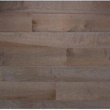 "Specialty 3-1/4"" Solid Maple Flooring in Greystone"