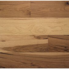 """Wide Plank 6"""" Engineered Hickory Flooring in Toast"""