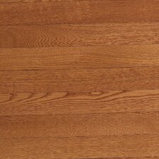 "Value Strip 2-1/4"" Solid White Oak Flooring in Saddle"